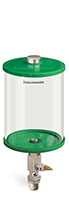 B5161-064AB4GW_Green Color Key Single Feed Manual 0.5gal .5